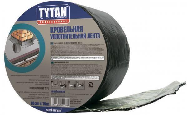 Кровельная лента TYTAN;10*0,15 м. ; антрацит, кирпич, зелёный, коричневый