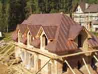 Кровельные работы любой сложности - крыши одно,двухскатные,пологие,фигурные,подшивка фасада,цоколя,сточные трубы,разное.