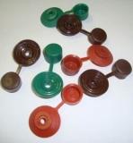 Кровельный конек керамопласт. Изготовлен из керамопласта как и шифер керамопласт.