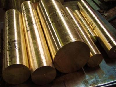 Круг бронзовый 340 мм. БрАЖ 9-4, ОЦС, БрКМц, БрАМц пруток