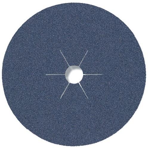 Круг фибровый CS-565 Области применения: благородная сталь/металл Діаметр - 180 Зерно - P24