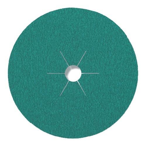Круг фибровый, связка МУЛЬТИ CS-570 Области применения: благородная сталь/(цветные металлы) Діаметр - 125 Зерно - Р24