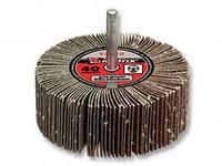 Круг наждачный лепестковый обдирочный 40*25*6 Р80 (КЛО)