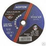 Круг отрезной абразивный по металлу 230*2,0*22,2 Norton Vulcan