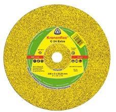 Круг отрезной Klingspor (Kronenflex) C 24 Extra 230 x 3,0 x 22 по бетону.