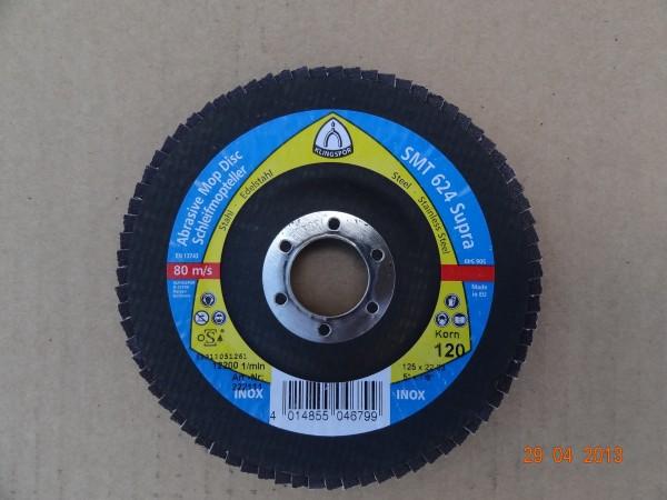 Круг лепестковый тарельчатый TE/SUPRA/SMT624/CS45 0X/40/N/125X22,23