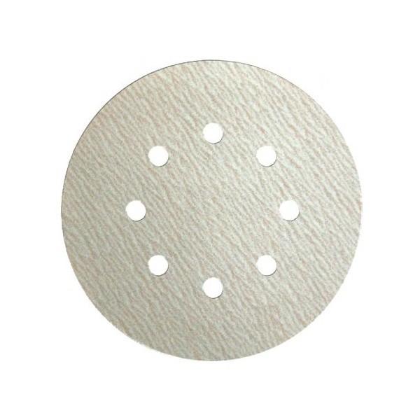 Круг шлифовальный на липучке (самозацепной) Klingspor PS73BWK (STEARAT LUX) Діаметр - 125 Зерно - Р40 - Р1200
