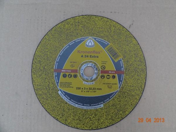 круг отрезной KT/EXTRA/A24EX/S/GER /230X3X22,23