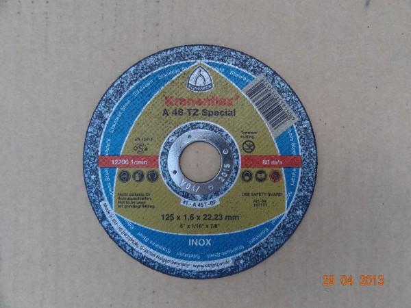 круг отрезной KT/EXTRA/A46EX/S/GER /125X1,6X22,23