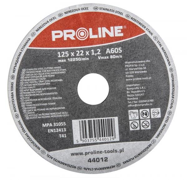 Круг відрізний по металу 230 х 2 х 22мм PROLINE. Наличие в Киеве.