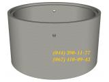 Фото  1 КС 10.9-П-ЄС - кольцо канализационное для колодца, септика. Железобетонное кольцо колодезное. 1979288
