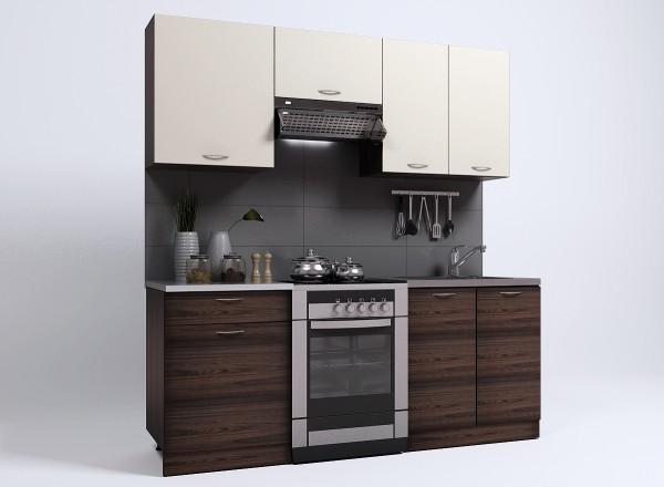 "Кухня""Епика "" 2м (7 упаковок) Фасад:ДСП Корпус:ДСП"