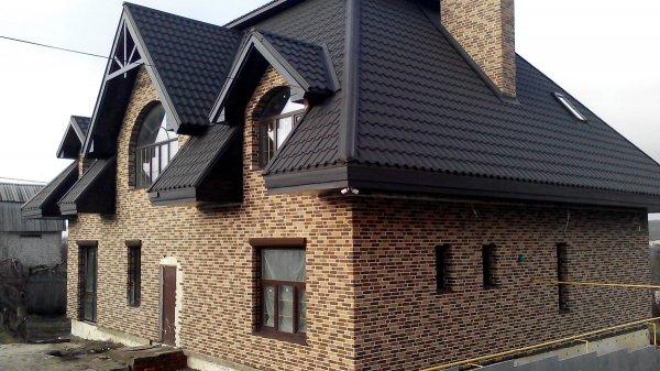 Фото 6 Теплоизоляционные фасадные термопанели. Старый кирпич. 215грн/м2 340791