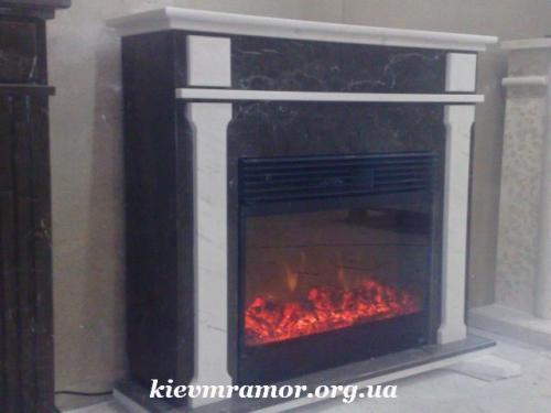 Купить каминный портал из мрамора для квартиры и дома.