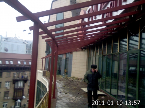 Купить Металлоконструкции, террасы, навесы в Киеве