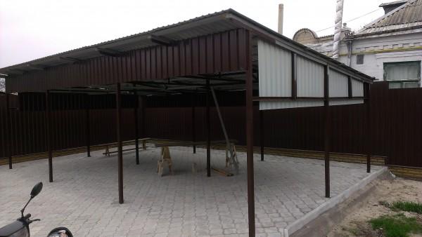 Купить профнастил для ограждения в Днепропетровске
