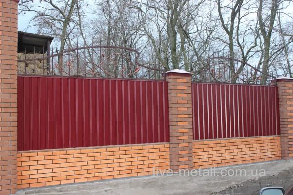 Купить Железные заборы в Днепропетровске