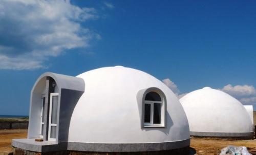 Купольный дом , 50 м. кв. , домокомплект