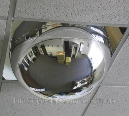 Купольное зеркало безопасности