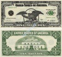 Фото  1 Купюра 1000000 $ Один миллион долларов США 1879156