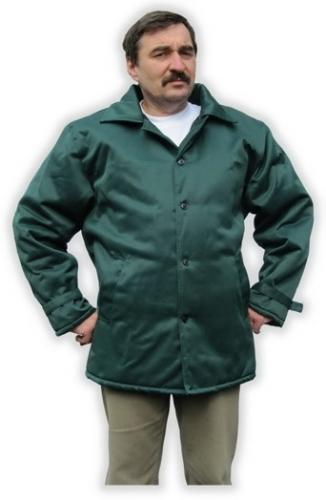 Куртка рабочая утепляющая - на пришивной стеганой подкладке, утепленная застежка центральная на пуговицфх