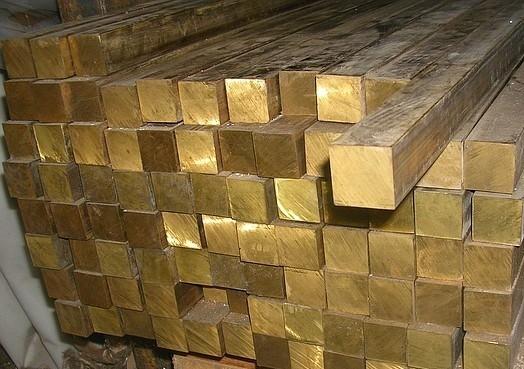 Квадрат латунный 25-160 ГОСТ купить цена, порезка, доставка.
