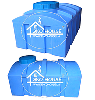 Квадратная пластиковая емкость(бак) 1000 литров. Баки для воды кубовые.
