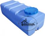 Квадратная пластиковая емкость(бак) 750 литров.