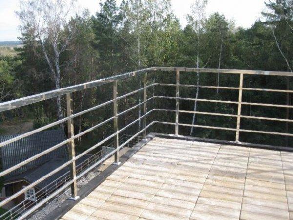 Фото 11 Перила з нержавійки,балкони,навіси,відбійники 335746