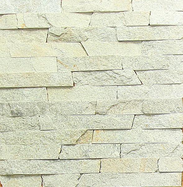 Природний камінь кварцит сіро-жовтий