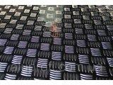 Фото 1 Лист алюминиевый рифленый Квинтет 1,5 мм 344534