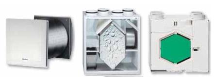 KWL® - вентиляционные системы с функцией рекуперации тепла