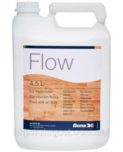 ЛАК BONA FLOW. двухкомпонентный полиуретановый лак на водной основе.