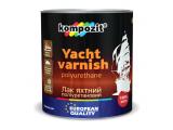 Фото  1 Лак для яхт полиуретановый Kompozit шелковисто-матовый 2,5 л 2038514