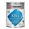 Лак на водной основе для дерева Кива полуматовый Тиккурила
