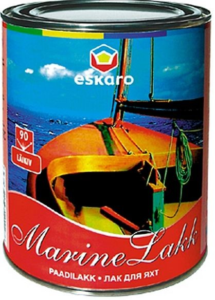 Лак яхтенный Marine Lakk 40 п/м, 0,95 л