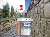 Фото  2 Лак для камня на водной основе Аква-Рок 2л ISAVAL фасадный гидроизоляционный прозрачный 2859247