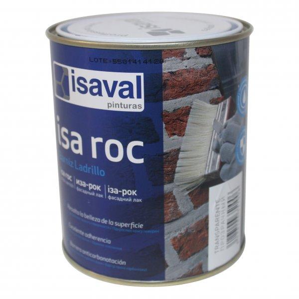 Фото  1 Лак для камня фасадный гидроизоляционный «мокрый камень» Иза-Рок 0,75л ISAVAL 1859149