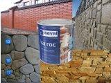 Фото  2 Лак для камня фасадный гидроизоляционный «мокрый камень» Иза-Рок 0,75л ISAVAL 2859249