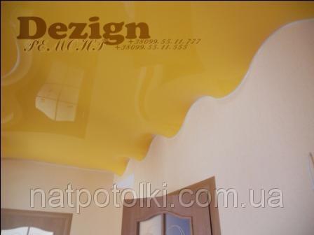 Лаковый натяжной потолок 1,8м