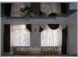 Лаковый натяжной потолок 3,2м