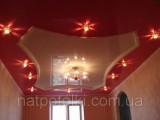 Лаковый натяжной потолок 4м