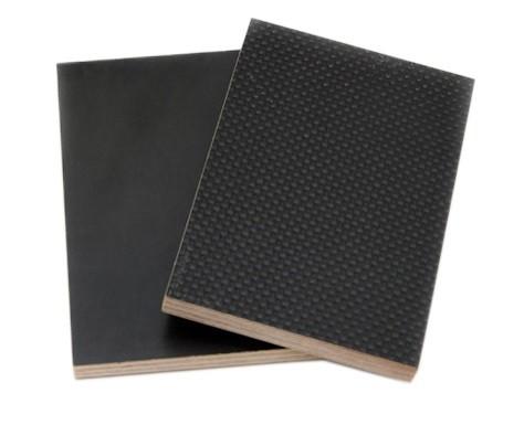 Ламинированная фанера 12 мм ФСФ (ФОФ) темно-коричневого цвета, 2500х1250 мм, сетка/гладкая. Склад в Харькове.