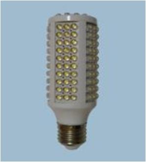 Лампа 120LED 7w E14 свет теплый 600Лм, холодный 700Лм размер 43х110 мм