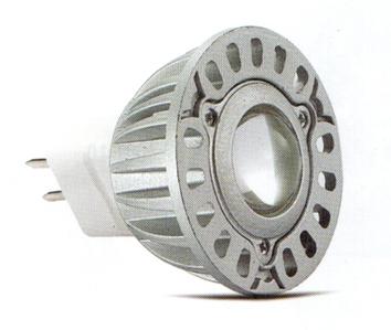 Лампа светодиодная MR16 6500К , аналог галогенной лампы MR16. сверхмощный светодиод 3Вт 12В.