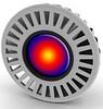 Лампа светодиодная MR16. LED lamp. Лампа трехцветная MR16/GU5.3