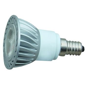 Лампа светодиодная с алюминиевым радиатором JDR POWERLED 1X3W E14 2700K (дневной)