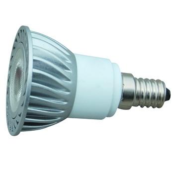 Лампа светодиодная с алюминиевым радиатором JDR POWERLED 1X3W E14 4000K (холодный белый)