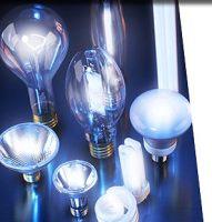 Лампочки накаливания, галогенные, металогалогенные, ксеноновые, ртутные и др.