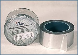 ЛАМС. Лента алюминиевая самоклеящаяся. Использовать ленту ЛАМС для проклеивания стыков.